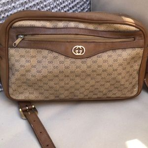 Gucci Vintage Monogram Shoulder Bag